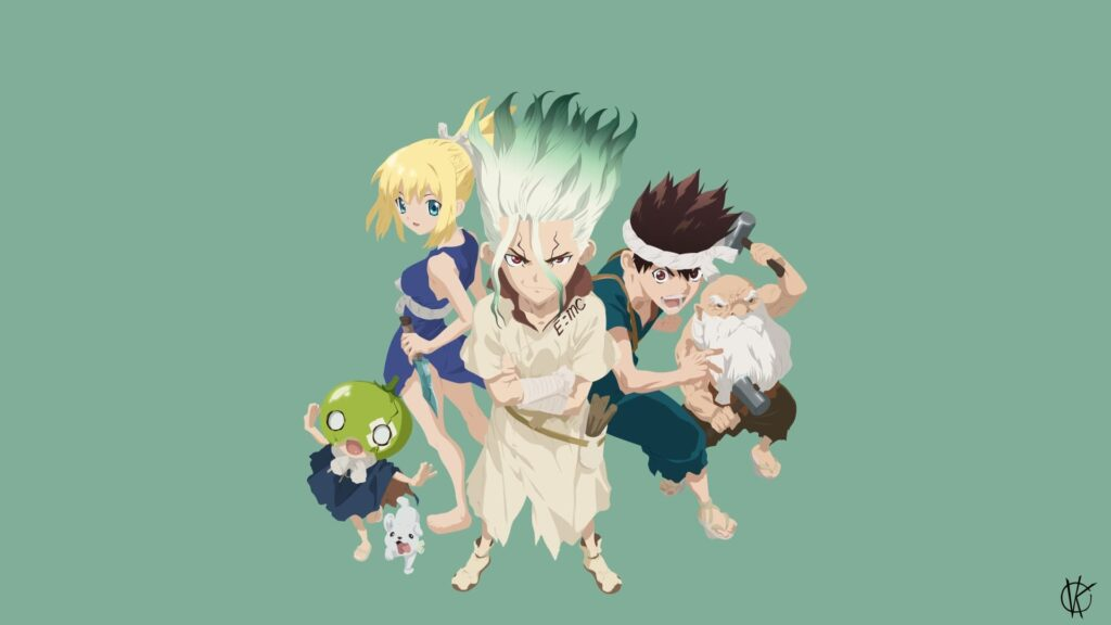 Dr.stone Pc Wallpaper Hd