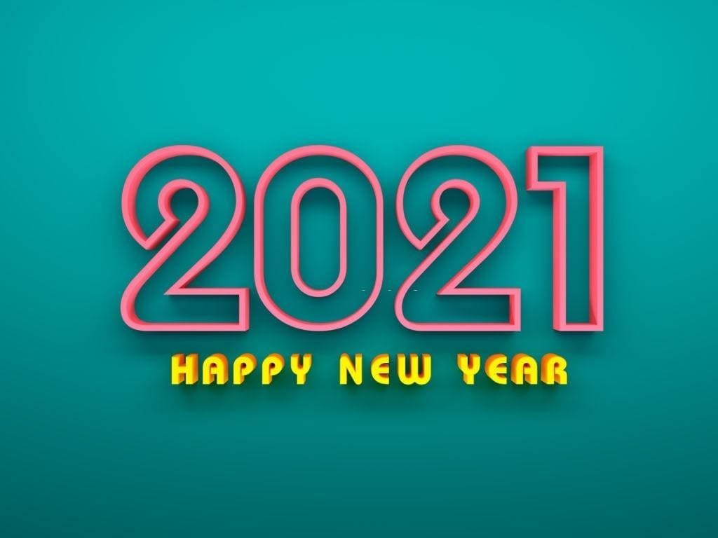 Happy New Year 2021 Desktop Wallpaper