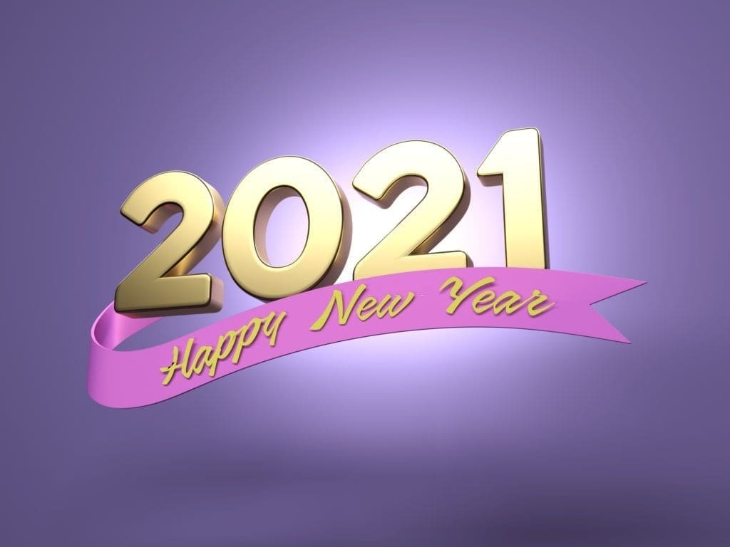 Happy New Year 2021 Pc Background