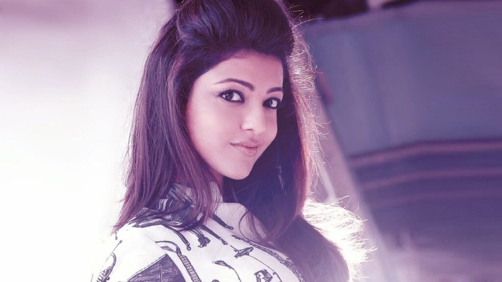 Kajal Aggrwal Laptop Wallpaper