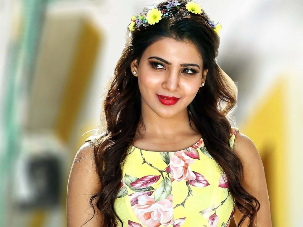 Samantha Ruth Prabhu Desktop Background