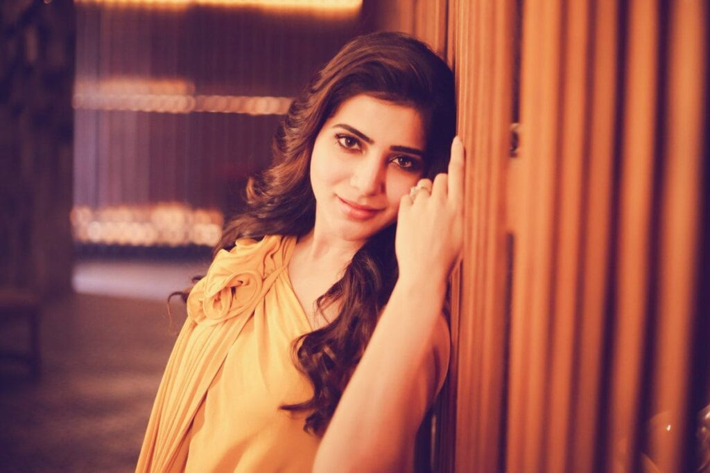 Samantha Ruth Prabhu Desktop Wallpaper
