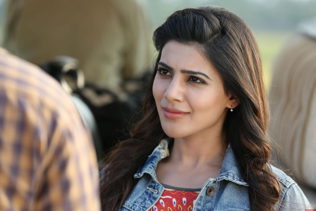 Samantha Ruth Prabhu Laptop Wallpaper