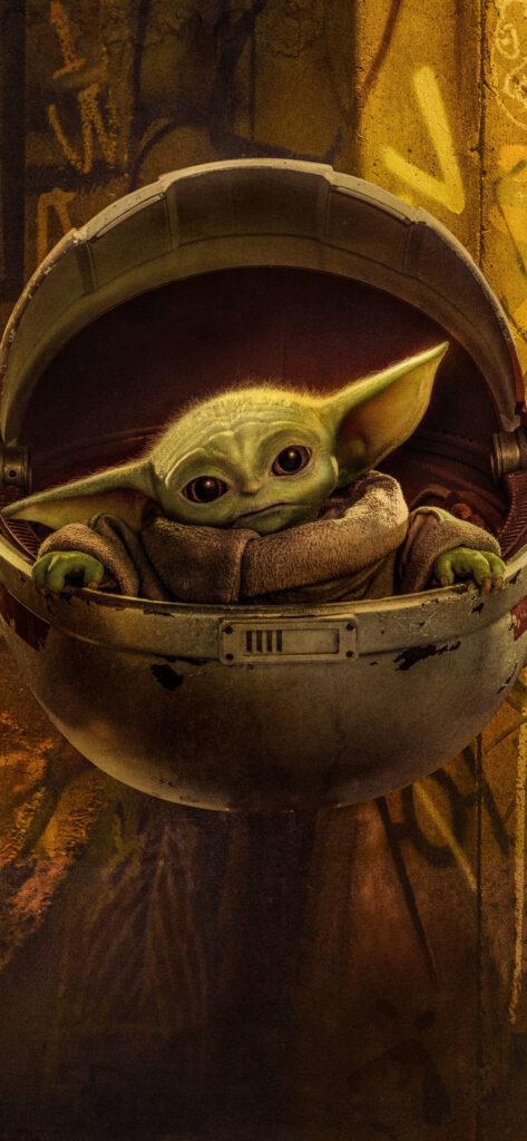 The Mandalorian Baby Yoda Season 2 Wallpaper