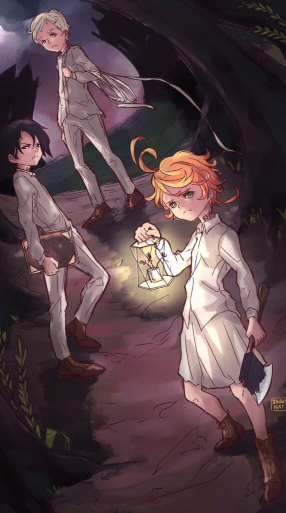 The Promised Neverland Wallpaper 4k