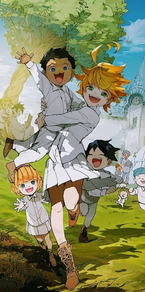 The Promised Neverland Wallpaper For Android