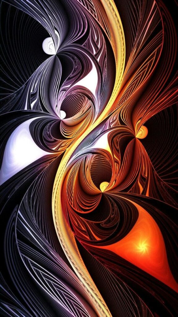 Fractal Wallpaper For Phone