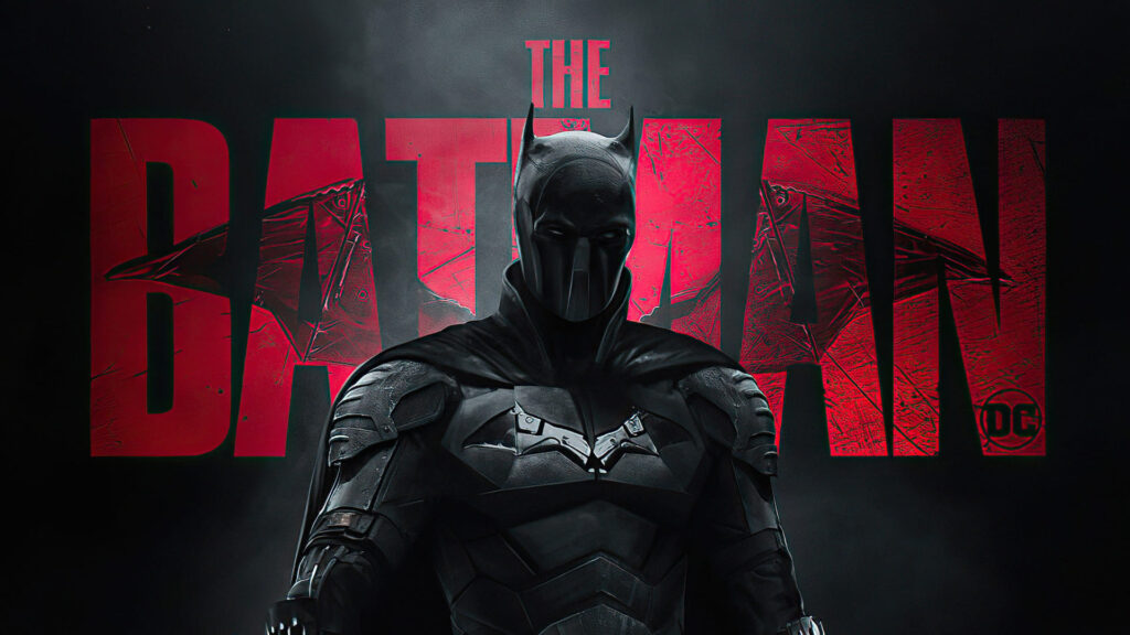 the batman 2021 laptop wallpaper