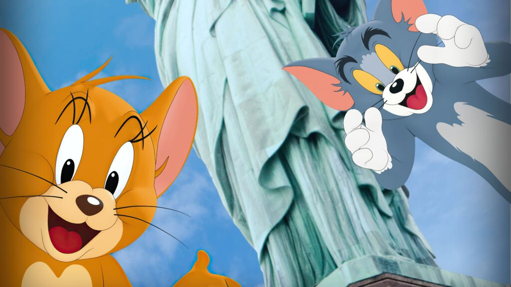 tom and jerry desktop wallpaper