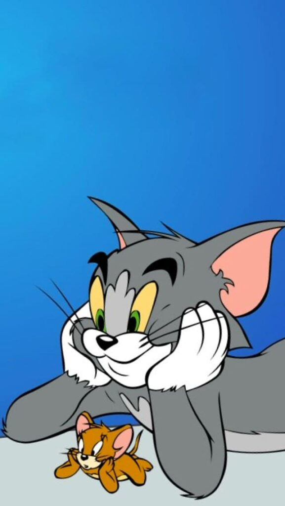 tom and jerry wallpaper 4k