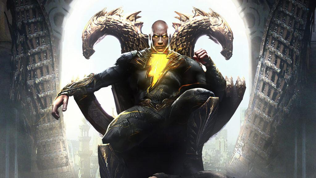 black adam computer background