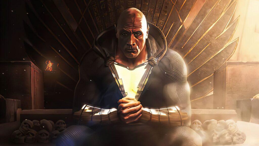 black adam dektop background