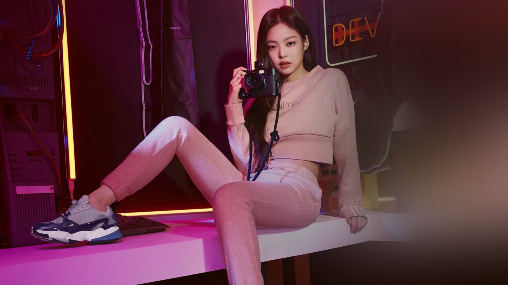 jennie kim computer wallpaper