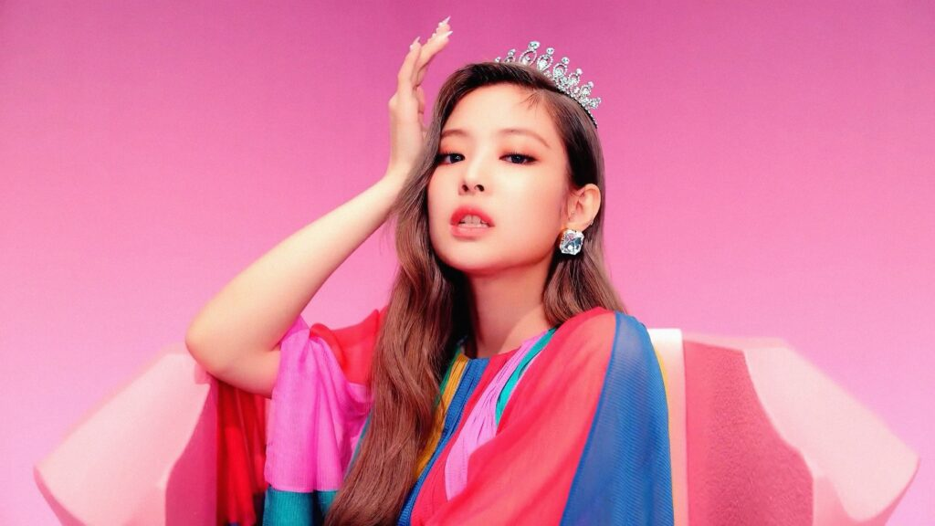 jennie kim desktop wallpaper