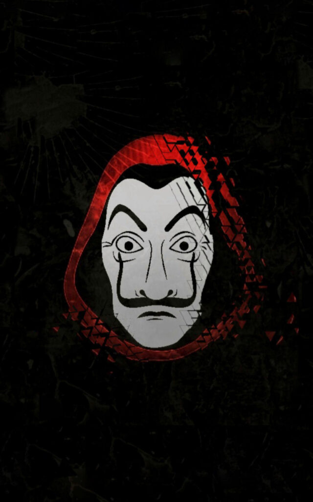 money heist mask images