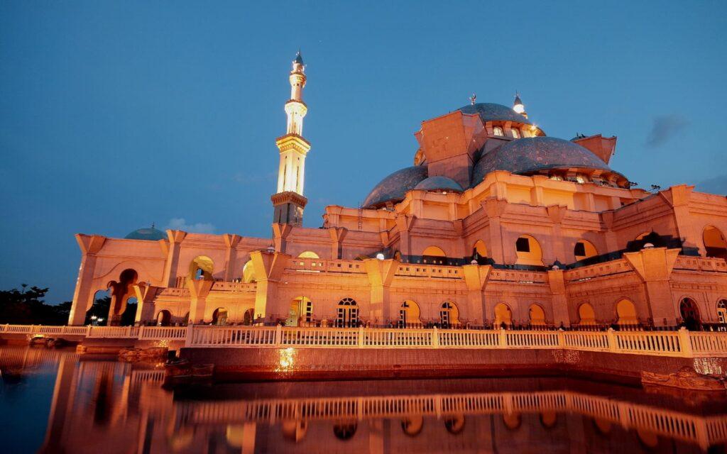 mosque laptop wallpaper