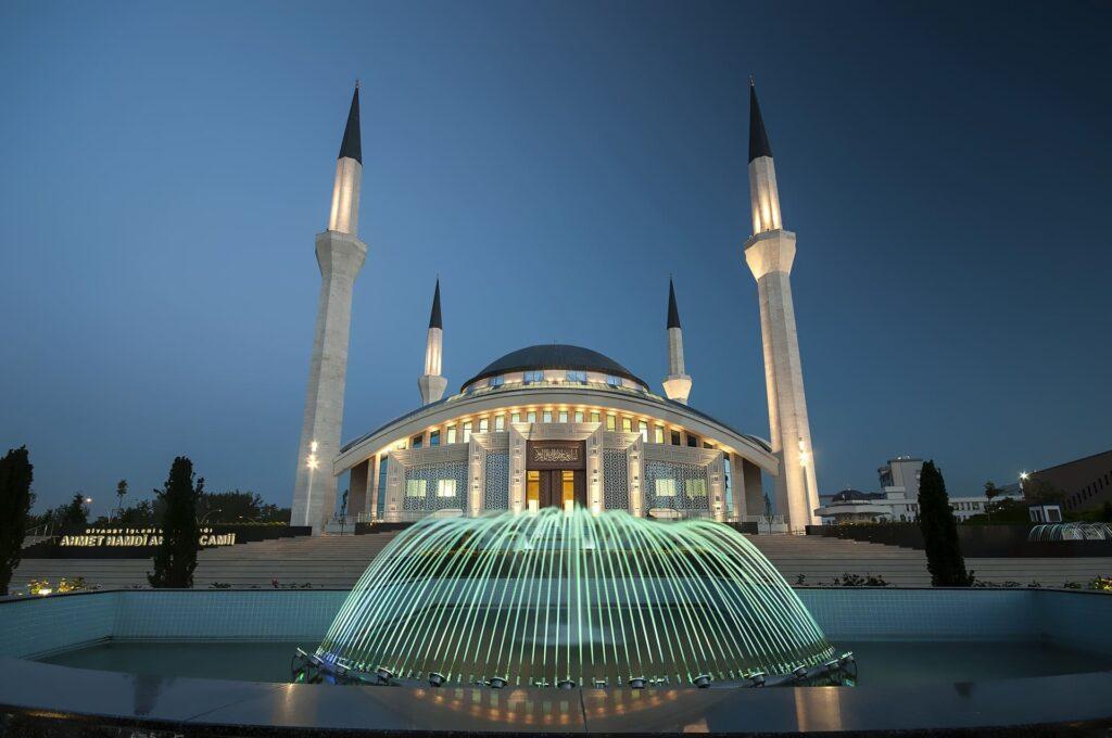 mosque pc wallpaper