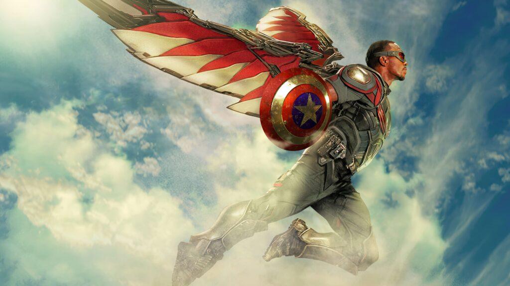 falcon marvel desktop background