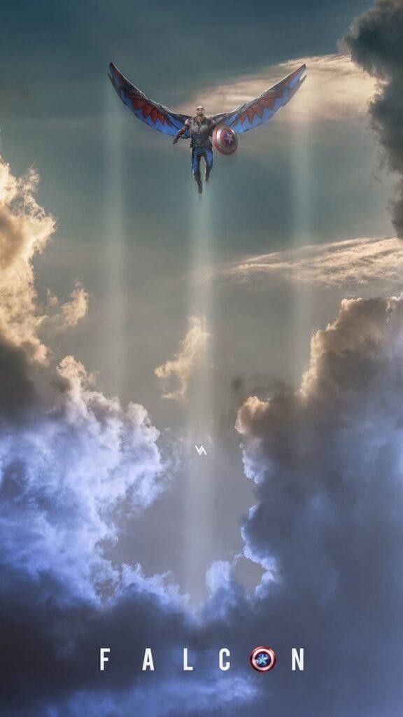 falcon marvel photo