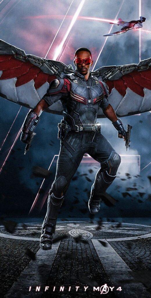 falcon marvel wallpaper