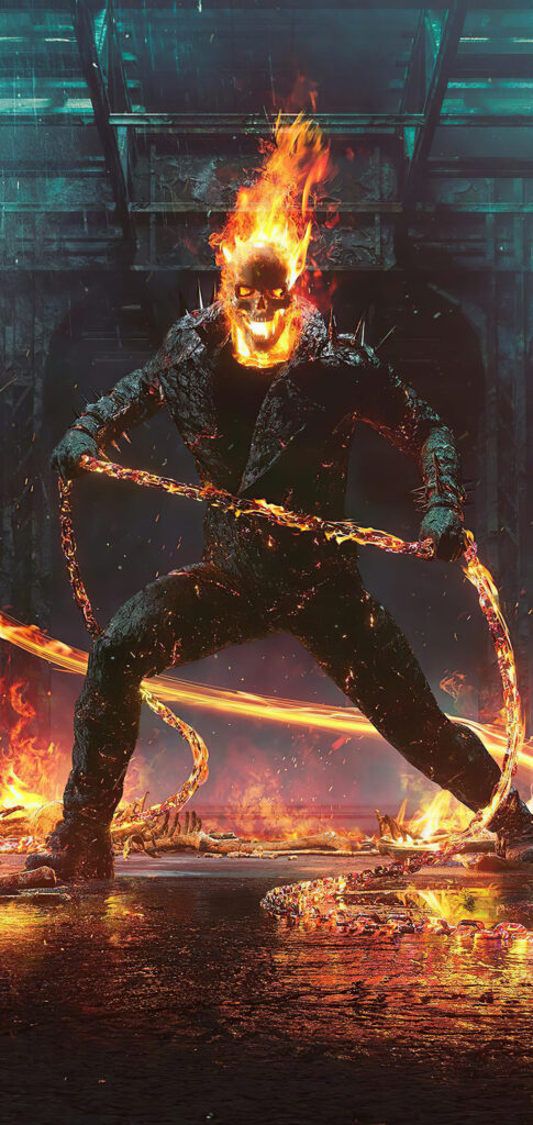 ghost rider wallpaper iphone