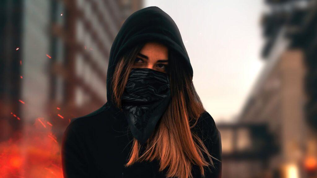 mask desktop background