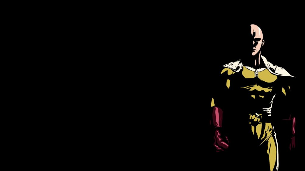 one punch man background
