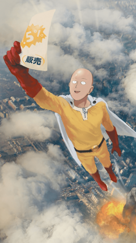 one punch man mobile wallpaper