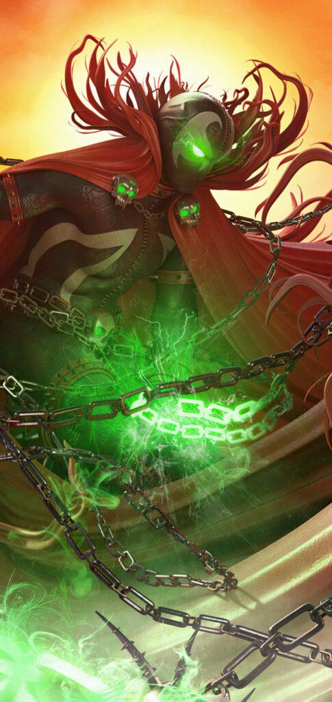 spawn background
