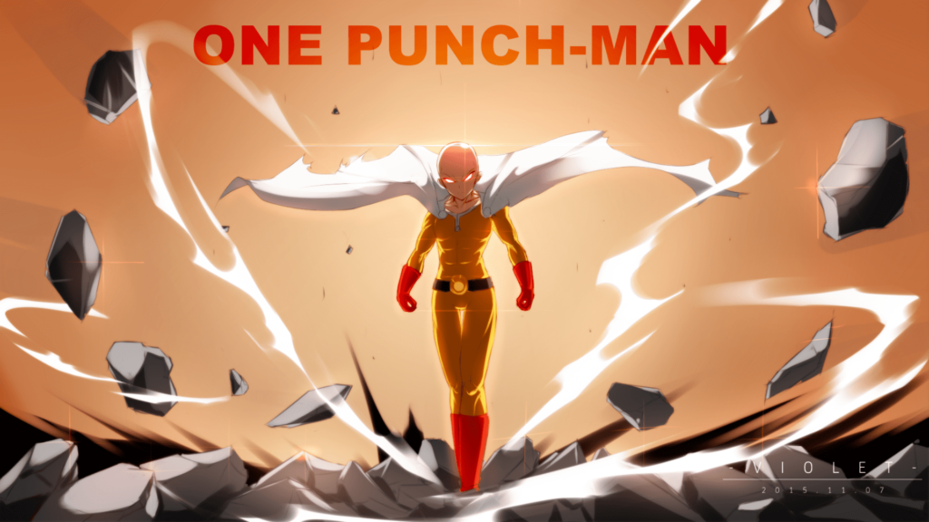 wallpaper one punch man