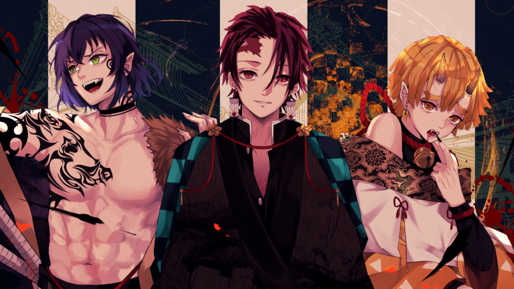zenitsu desktop wallpaper