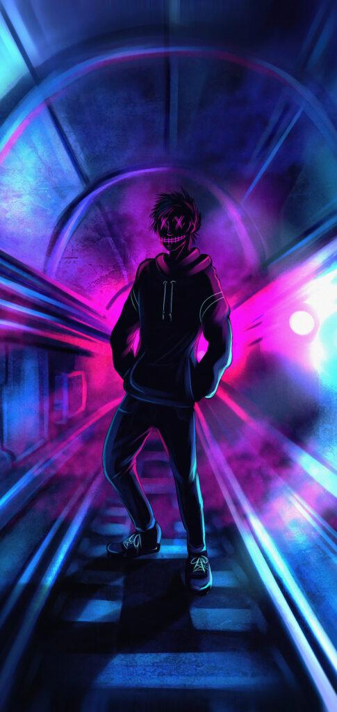 neon wallpaper download