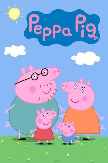 peppa pig house background