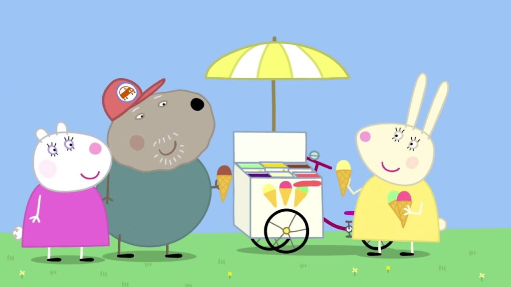 peppa pig house backgrounds
