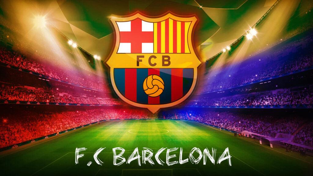 fc barcelona laptop background
