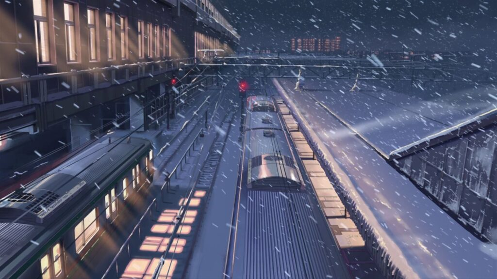 5 centimeters per second backgrounds