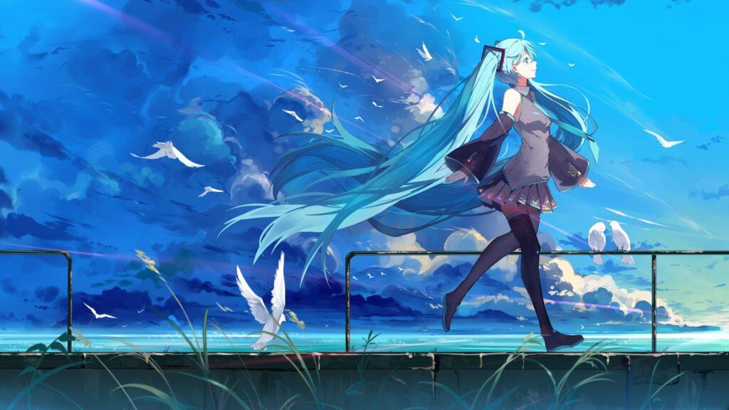 hatsune miku desktop wallpaper