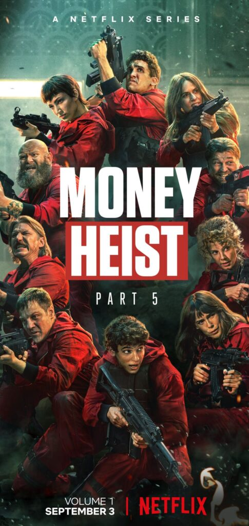 money heist season 5 picture hd