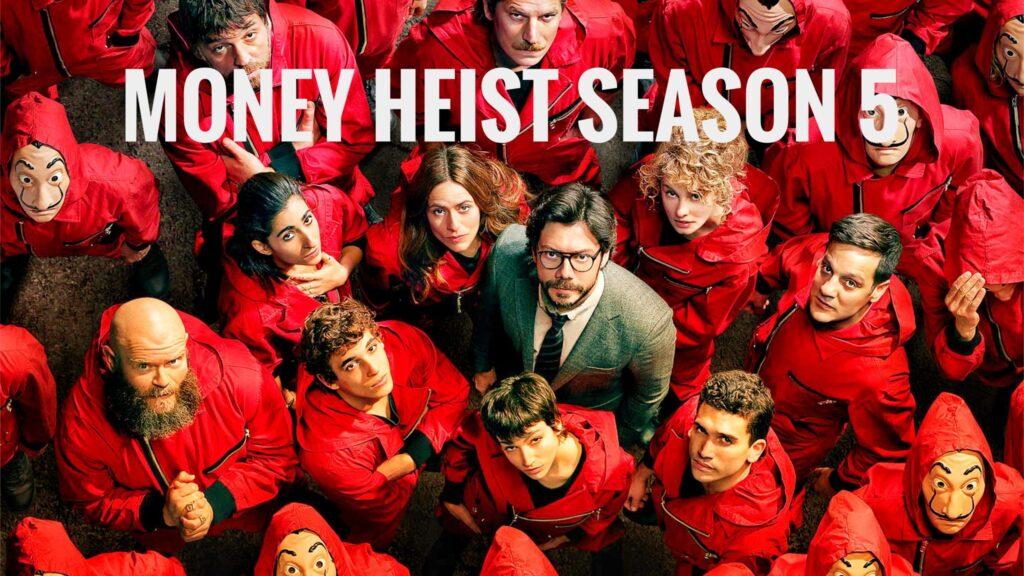 money heist season 5 imac wallpaper