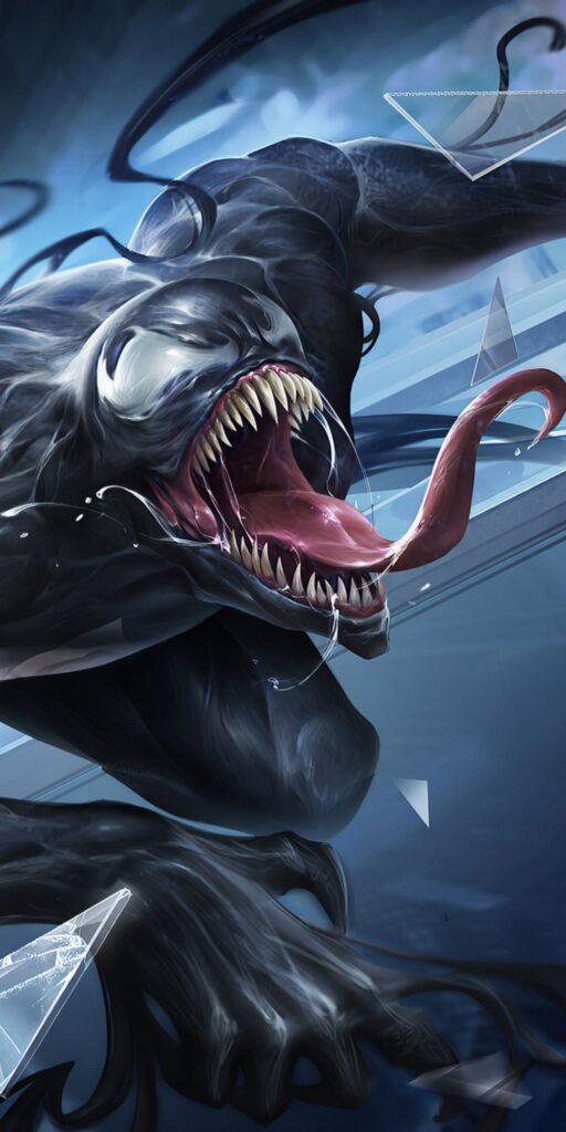 venom wallpaper phone