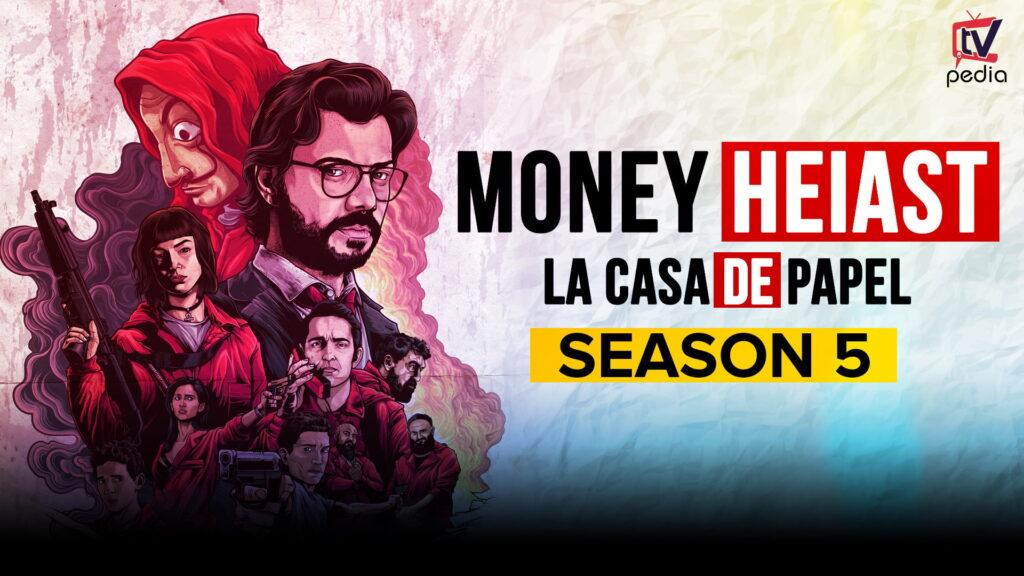 wallpapers money heist season 5