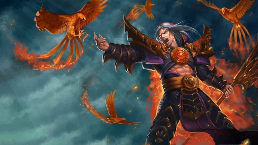 4k phoenix wallpaper