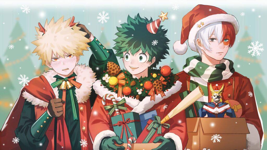 anime christmas wallpaper for laptop