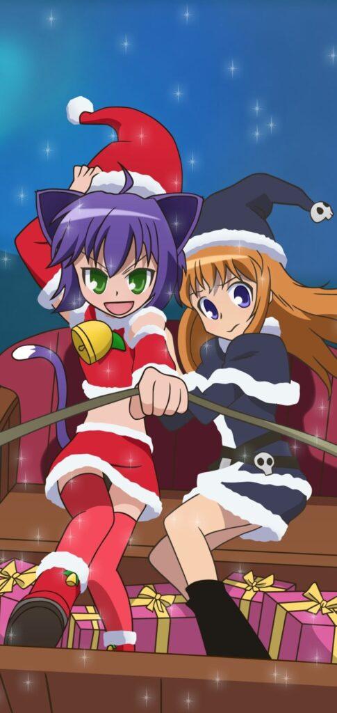 anime christmas images
