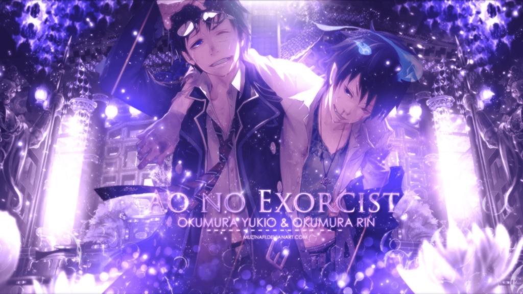 blue exorcist wallpaper for pc
