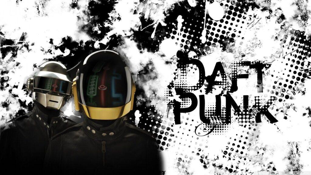 daft punk pc background