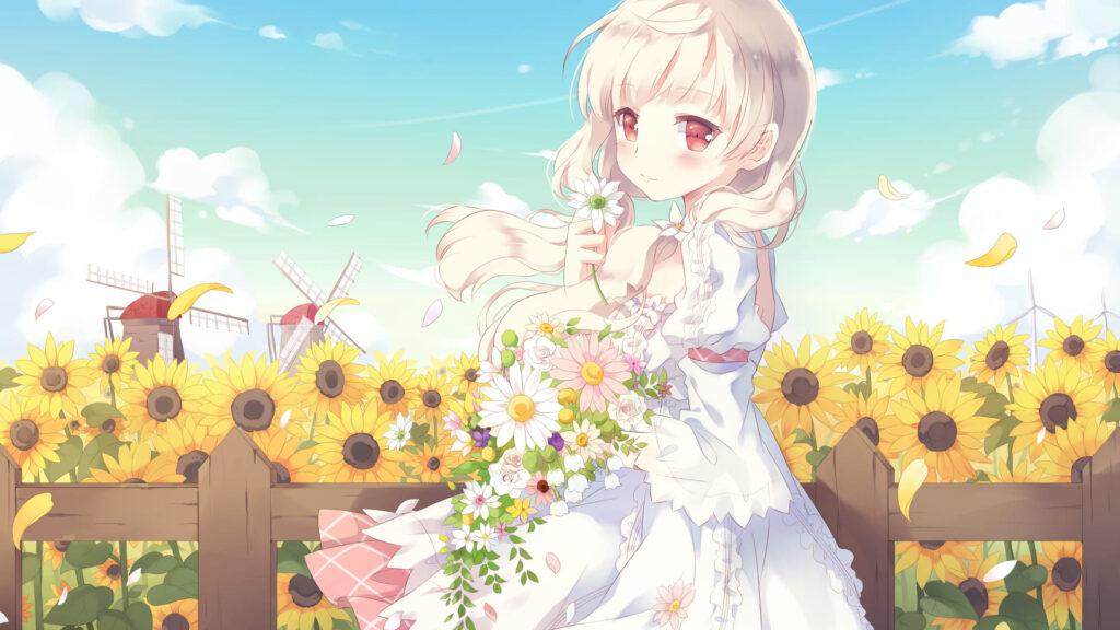 kyouko desktop wallpaper
