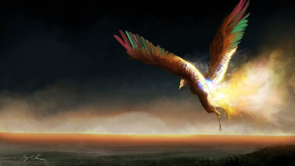 phoenix 4k background