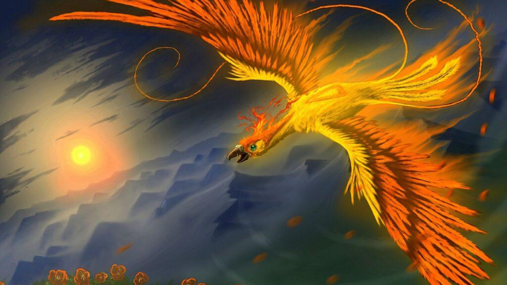 phoenix 4k wallpaper