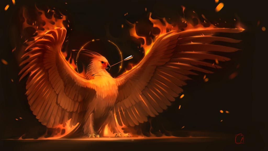 phoenix background 4k